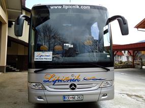 Avtobusni prevozi z udobnim avtobusom